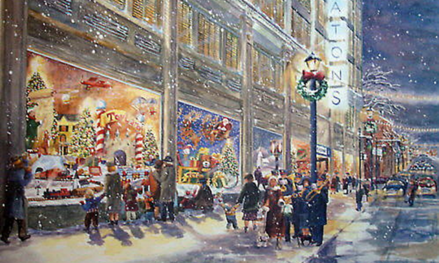 The History of Christmas Windows
