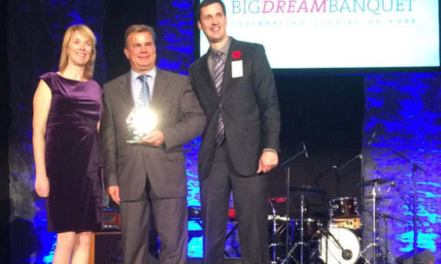 Port receives CityKidz award for helping Big Dreams Come True