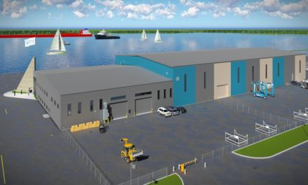 NEW BOAT STORAGE FACILITY FOR HARBOUR WEST MARINA
