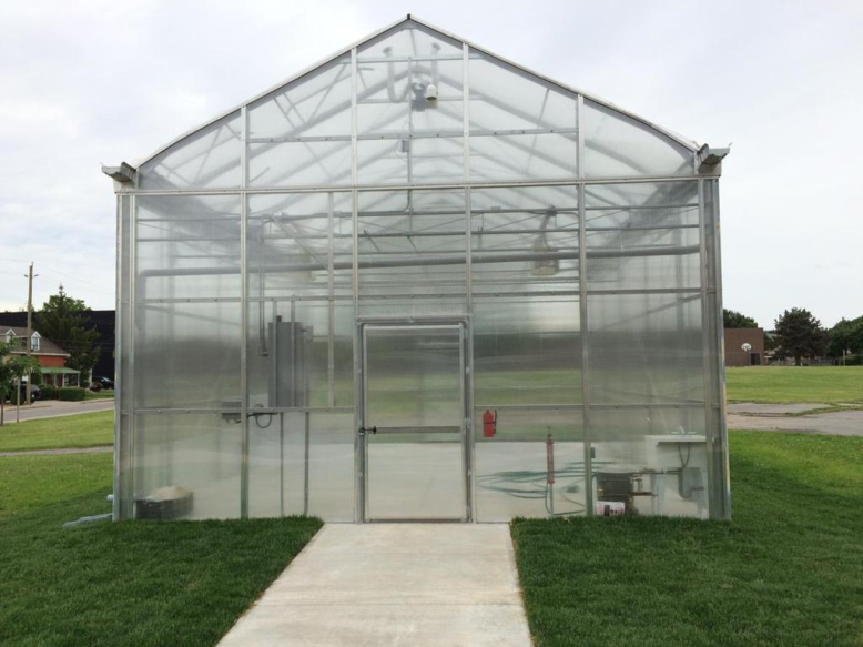 NHCHC Grub Club Begins 2017 Growing Season Early in Community Greenhouse