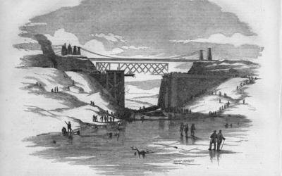 Train Wreck at the Desjardins Canal Bridge – March 12, 1857