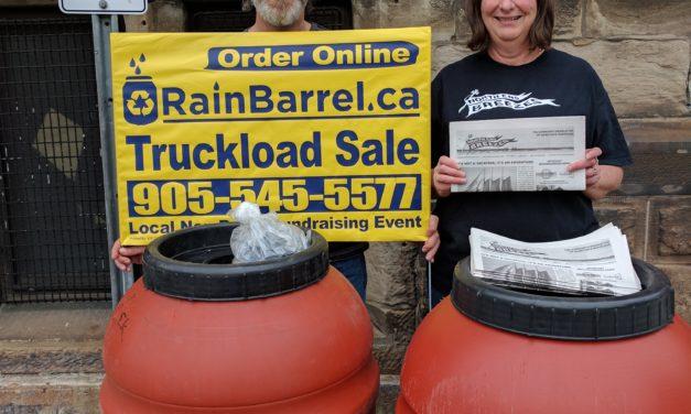 Rain Barrel Update