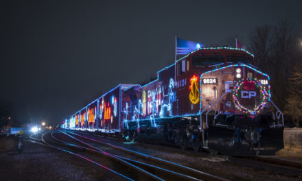 Canadian Pacific (CP) Holiday Train raises food and funds for Hamilton Food Share at free annual event