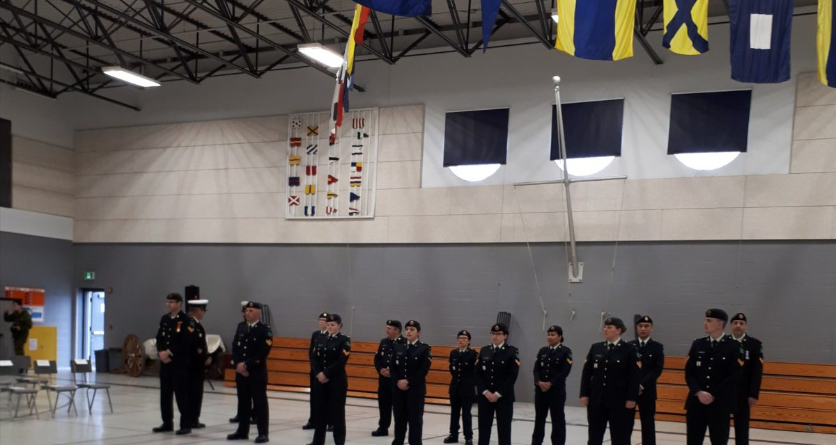 23 FIELD AMBULANCE CHANGE OF COMMAND CEREMONY: HAMILTON