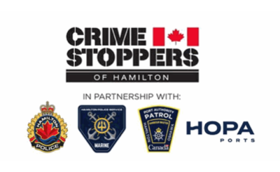 "Crime Stoppers of Hamilton is ""On the Water"""