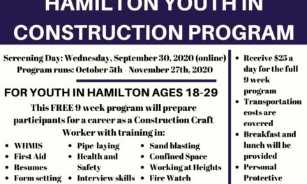 Hamilton Youth in Construction Program