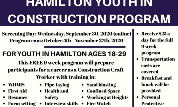 Hamilton Youth in Construction Program
