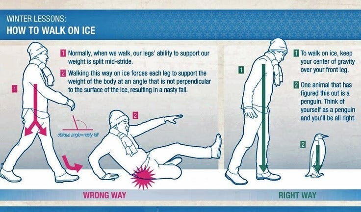 6 TIPS FOR DEALING WITH BLACK ICE