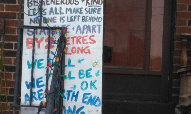 Creating Community on the Sidewalk