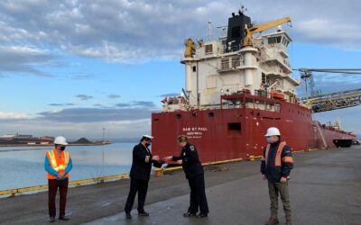 Port Update – First Vessel at the Port of Hamilton